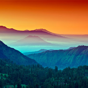 Bromo  by Rudy Wahju - Landscapes Sunsets & Sunrises