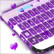 Purple Hearts Keyboard