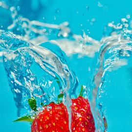 Summer splash by Ian Harvey-Brown - Food & Drink Fruits & Vegetables