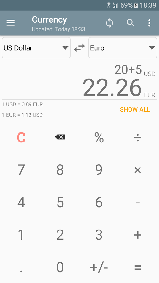Unit Converter Calculator Pro Screenshot 2