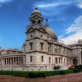 Vibrant Victoria by Sautrik Dutta Mantrani - Buildings & Architecture Statues & Monuments