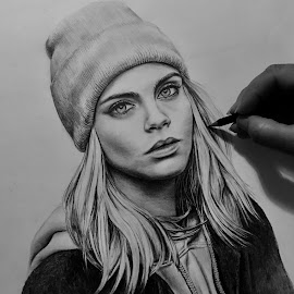Cara by Lisa Chilton - Drawing All Drawing