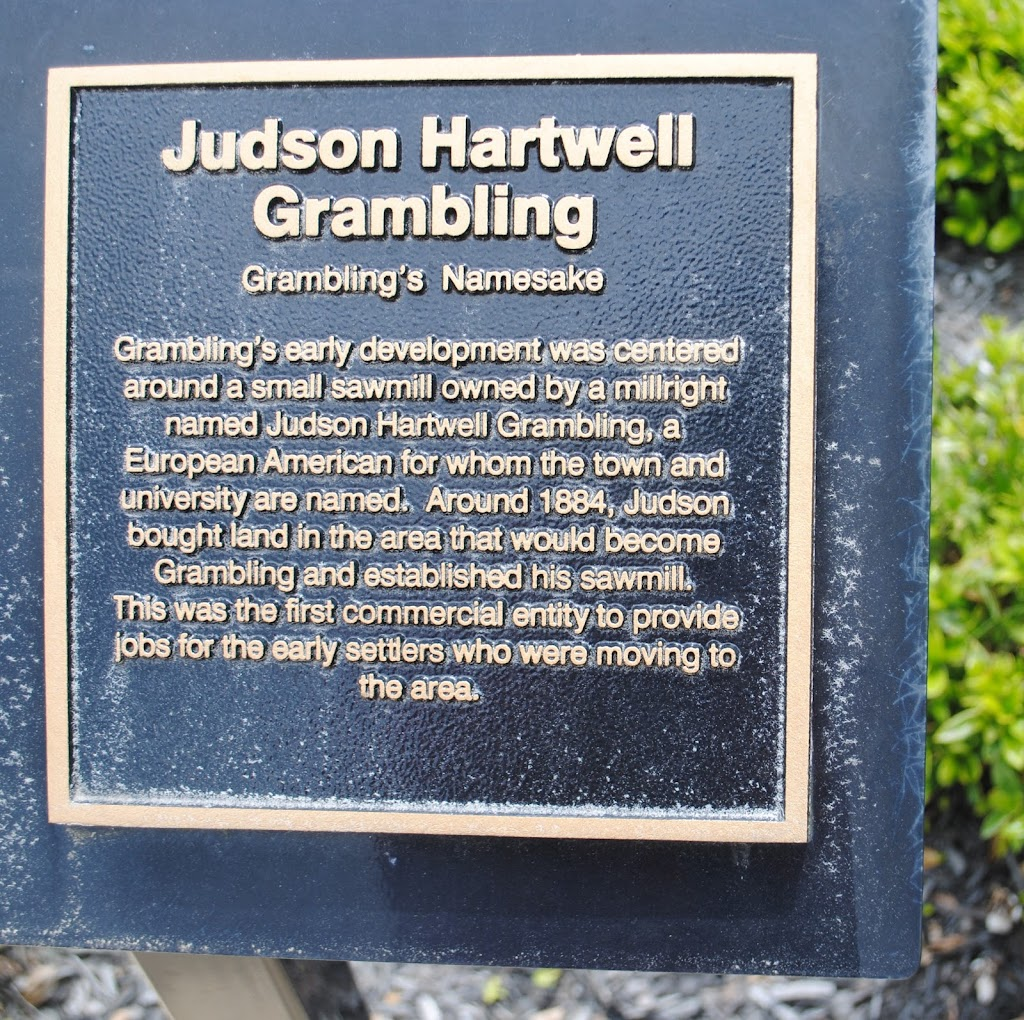 Grambling's Namesake Grambling's early development was centered around a small sawmill owned by a millright named Judson Hartwell Grambling, a European American for whom the town and university are ...
