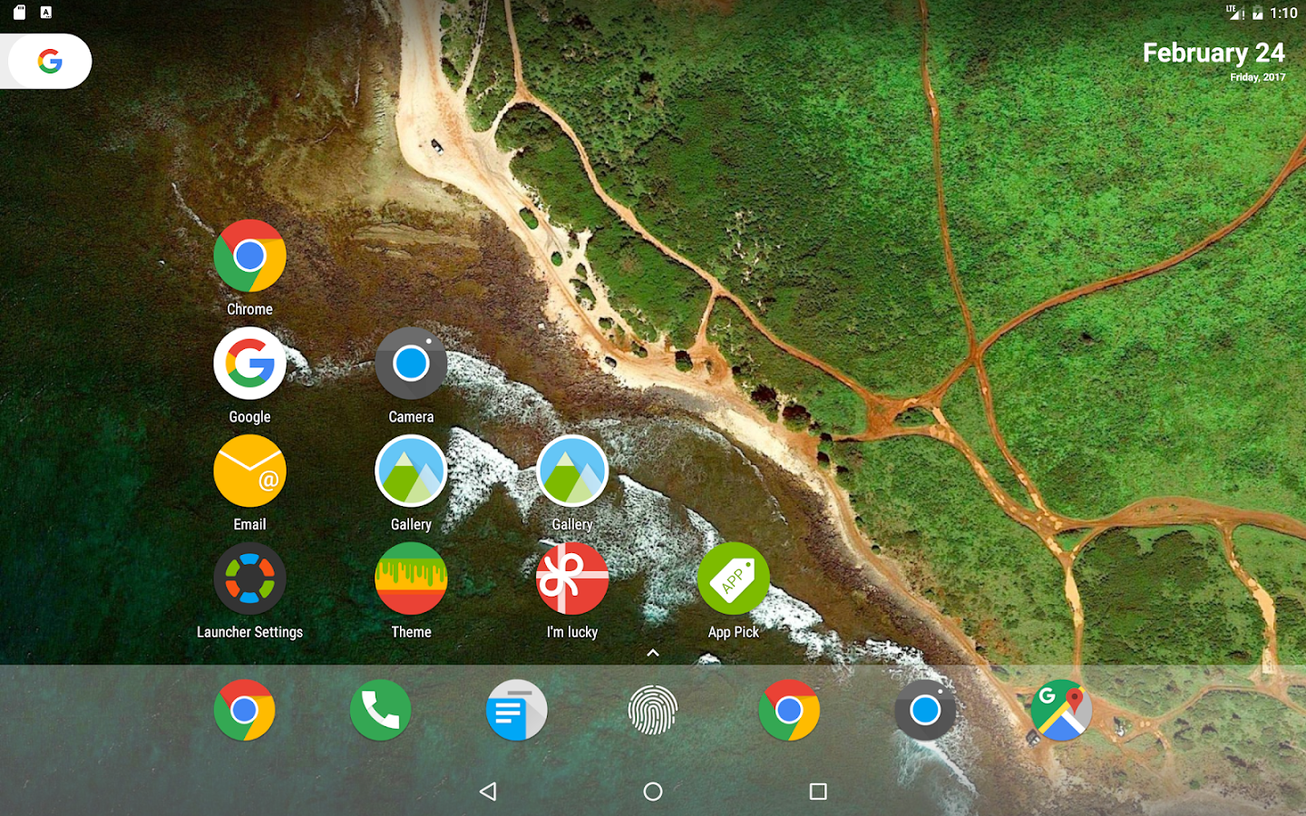 N Launcher Pro - Nougat 7.0 Screenshot 9