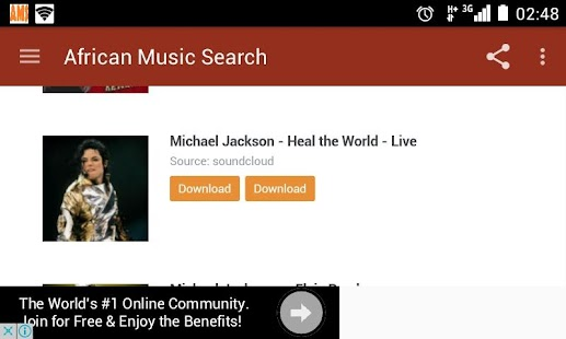African Music Search - screenshot