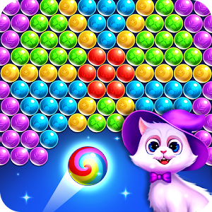 Bubble Shooter - Rescue Cats