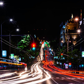 Light Show by Nenad Borojevic Foto - Abstract Light Painting ( doors, amperage, stations, automobile, char-a-banc, arrow, door, roadsign, cityscape, city, night shots, color image, tree, buildings, car body, light trails, nights, bus station, guide mark, signs, light trail, autobus, windows, nightshoot, roadway, yelow light, junction, night photo, auto racing, voltage, headlights, yelow lights, tired, auto, pointer, trees, light bulb, night shot, crosswalk, headlamp, light beam, stream, wheel, night lights, truck, nightview, colorfull, city that never sleeps, carriageway, signboard, tide, current, lightpainting, city street, traffic lights, intersection, light orb, flags, red lights, night scene, green, lightsphere, night time, city life, semaphore, light painting, red, lighting, beams, bilboard, beam, square, light beams, beacon, traffic light, automobiles, body, lightening, bus, nightshot, motorbus, dart, trucks, squares, sky, pole, night photography, cars, power, light, wire, wires, colors, wheels, headlight, white, strip, roadside, red light, tire, tread, lights beam, rays, green lights, guidepost, sign, lightbulb, lightning, flag, window, marker, billboard, night shoot, the road, nightscapes, car, ray, colorful, white lights, driveway, scoreboard, the bus, signal, lighter, lane, light art, lights, green light, city view, night life, road trip, nighttime, ray of light, colored, nightlife, building, city scene, coach, lamppost, nightscape, night view, color, tires, yelow, crossroads, road sign, nightography, night, tension, white light, circus )