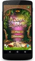 Screenshot of Magic Bubbles - 3 in a row