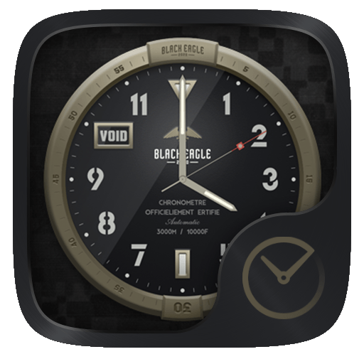 Blackeagle GO Clock Theme (app)