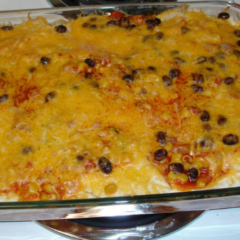 Simple Chicken Enchilada Casserole
