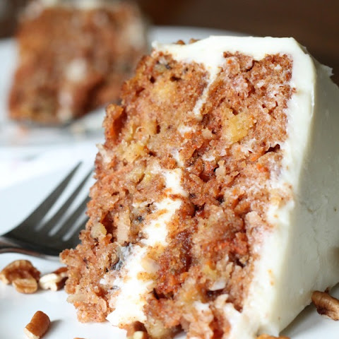 Out of this World Carrot Cake with Callie's Cream Cheese Frosting