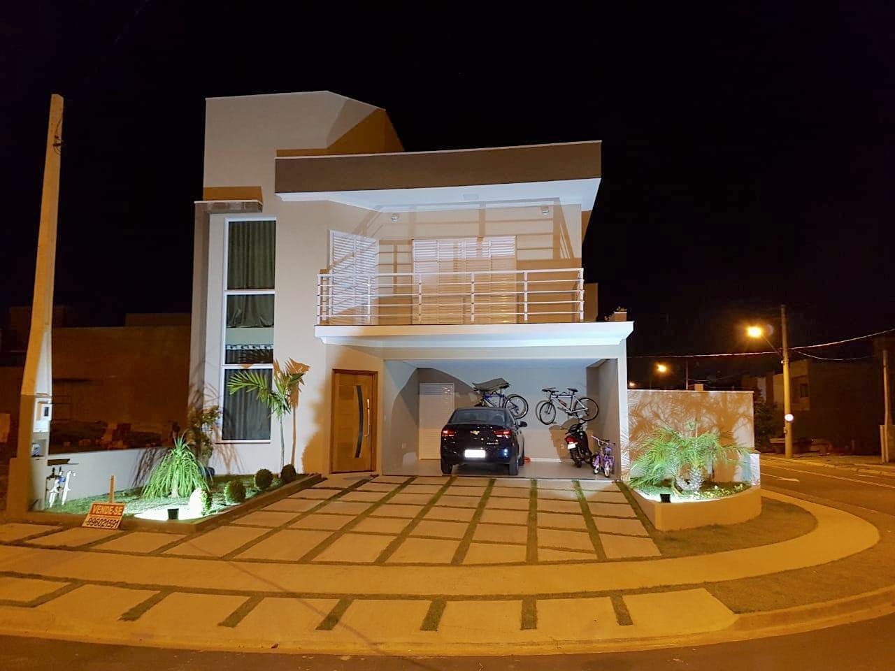 Sobrado de 182m2 com 3 dormitórios e 1 suíte com closet - Jardim Park Real - Indaiatuba/SP