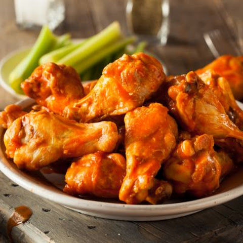Spicy Honey Chipotle Chicken Wings