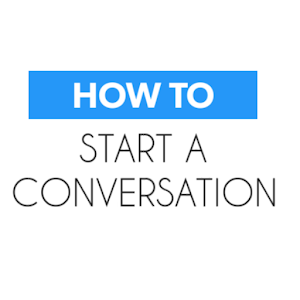 How to Start Conversation app