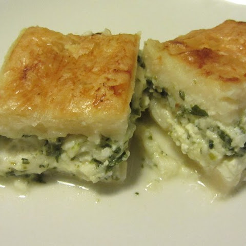 Cheese & Spinach Pastry