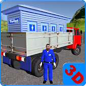 Free Download Public Toilet Cargo Truck 3D APK for Samsung