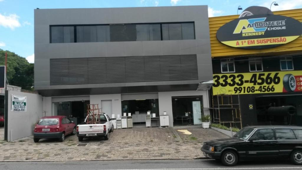 LO0028-ROM, Loja, 460 m² para alugar no Água Verde - Curitiba/PR