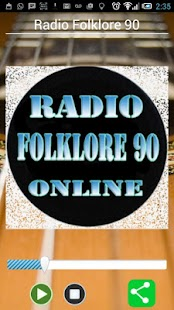 Radio Folklore 90 - screenshot