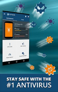 DFNDR: Antivirus & Cleaner for Lollipop - Android 5.0