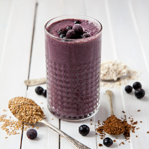Blueberry Coffee Smoothie