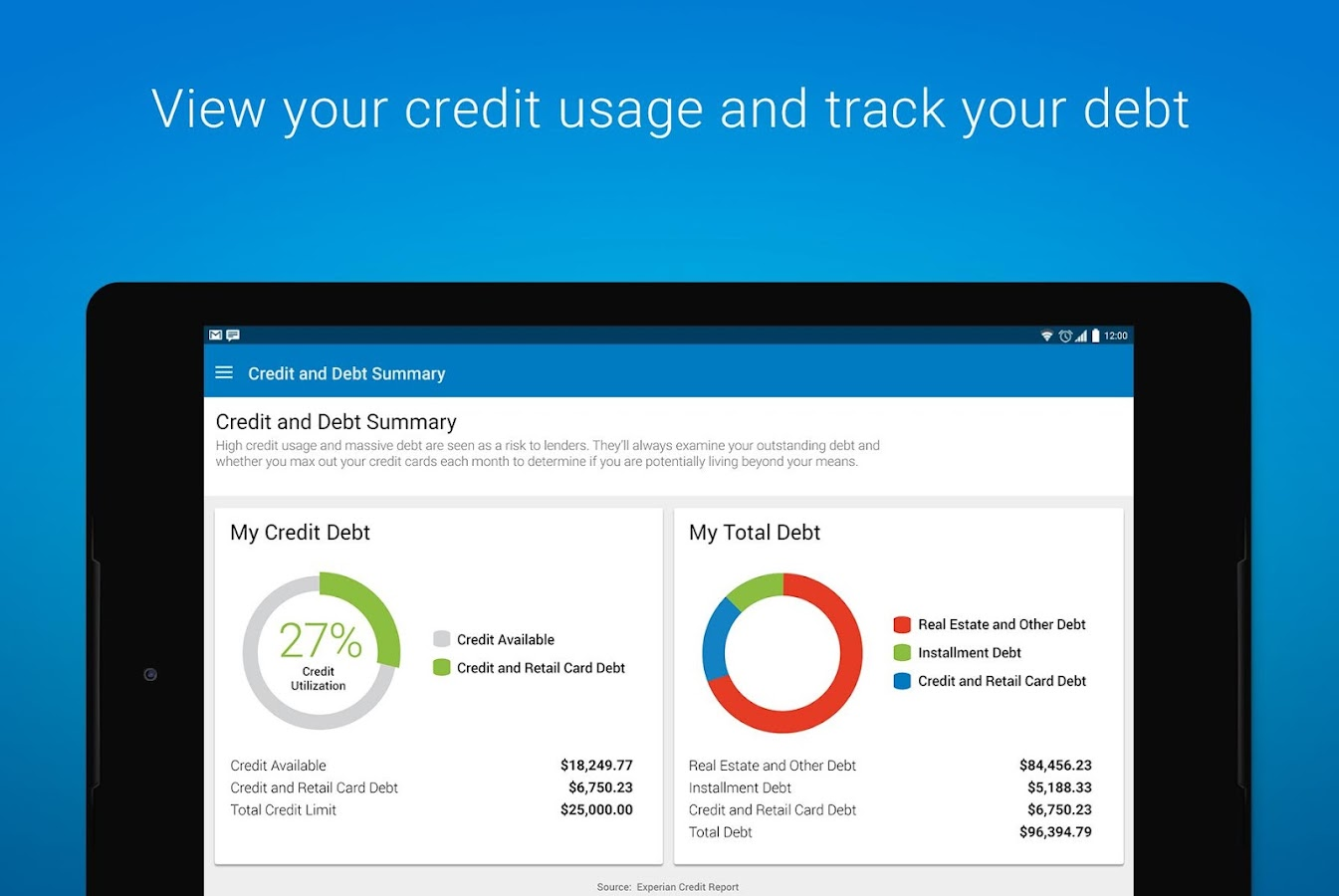 Experian - Free Credit Report Screenshot 12
