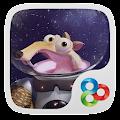 Ice Age GO Launcher Theme