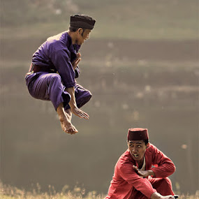 Duel Image (1) by Lucky E. Santoso - People Portraits of Men