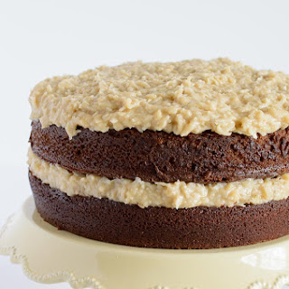 German Chocolate Banana Cake