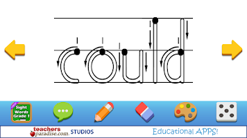 Screenshot of Kids Handwriting Grade 1 HWT