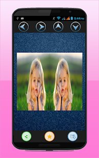 Mirror Effect Photo collage - screenshot