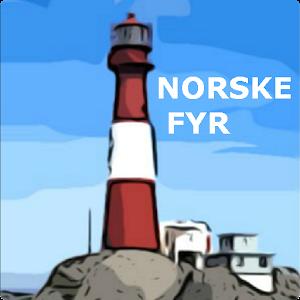Cover art Norske fyr