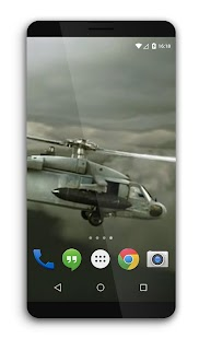 Military Helicopters Live Wall - screenshot