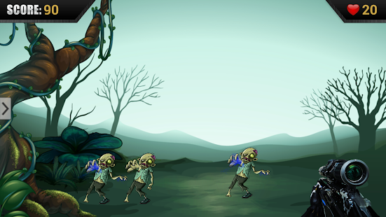 Wacky Zombie Shooter - screenshot