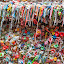 Gumwall by Briand Sanderson - Abstract Patterns ( abstract, pattern, gum, texture, chewing gum, wall, gum wall, multicolored )