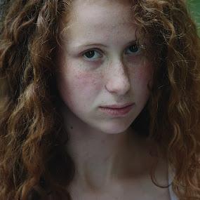 by Sandra Jakovljevic - People Portraits of Women ( girl, nature, women, portrait, eyes )