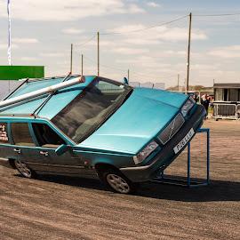 Stunt Volvo by Mike Newland - Sports & Fitness Motorsports ( volvo, stunt )