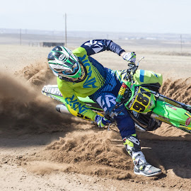 Rooster by Zachary Zygowicz - Sports & Fitness Motorsports ( sand, roost, motocross, racing, dirtbikes )