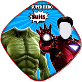 superheros suits photo montage PRO APK for Bluestacks
