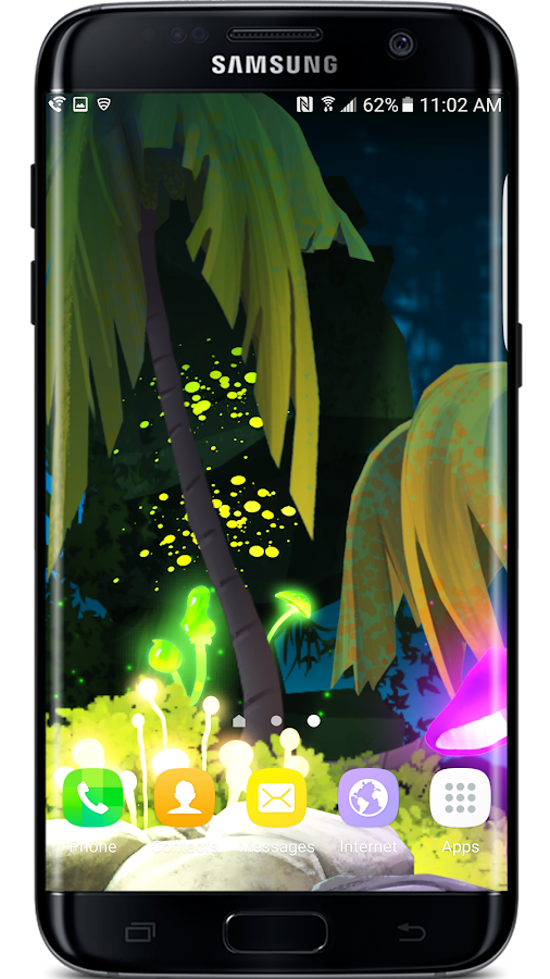 Firefly Jungle II LWP Screenshot 6