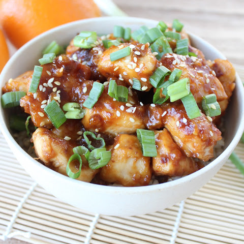 Gluten Free Orange Chicken