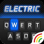 Electric Keyboard Theme - Free Emoji & Gif Icon