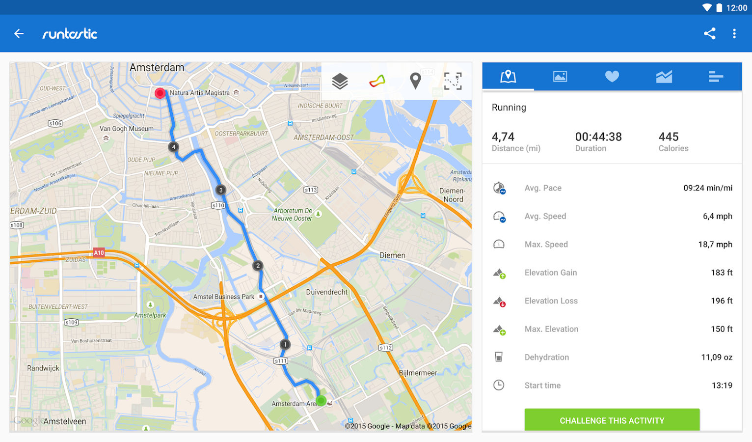 Runtastic PRO Running, Fitness Screenshot 11