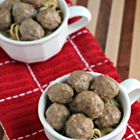 Meatball Stroganoff With Cream Of Mushroom Soup Recipes   Yummly