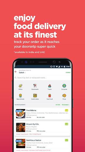 Zomato - Restaurant Finder screenshot 4