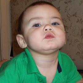 Want a kiss by AnnaMarie Brown - Babies & Children Babies