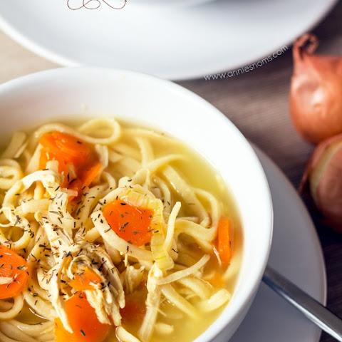 how to make egg noodle soup