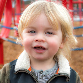 by Keith Sutherland - Babies & Children Children Candids ( child, blonde, smile, boy )