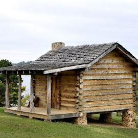 Just a tiny cabin by Linda Brooks - Buildings & Architecture Homes