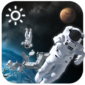 3d outer space weather widget android apps on google play for 3d map of outer space