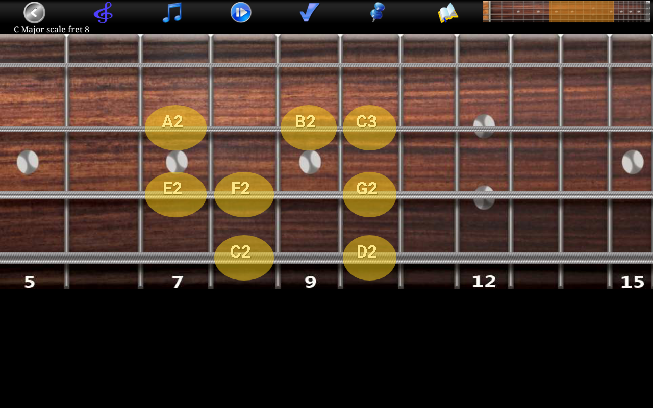 Bass Guitar Tutor Pro Screenshot 11